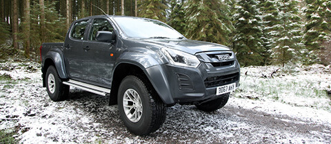 New Isuzu D Max At 35 Artic -