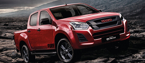 New Isuzu D Max Fury -