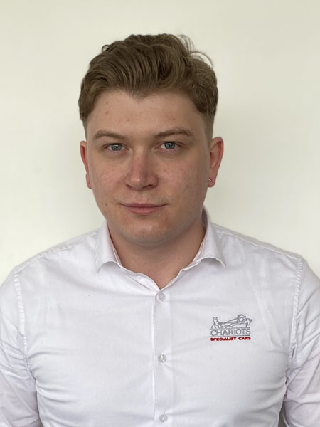 Robbie Budworth - Sales Executive