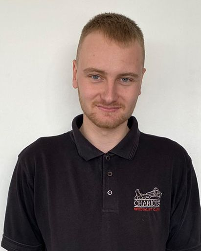 Bryce Vehicle Technician Result - Chariots Specialist Cars