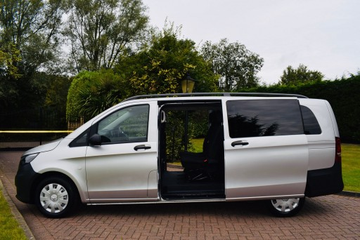 2018 Mercedes Vito Tourer 9 Seater  For Hire