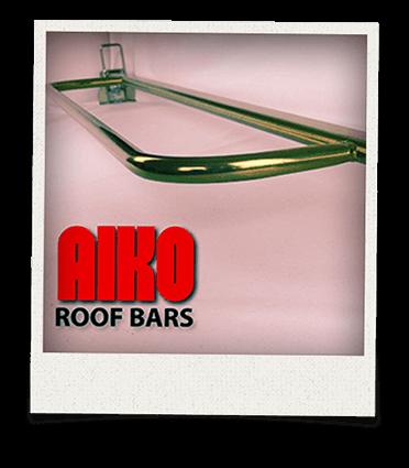 Close up of Aiko roofbar