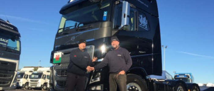 Alan Hughes thanked for 20 years of dedicated service at Sunhill Transport