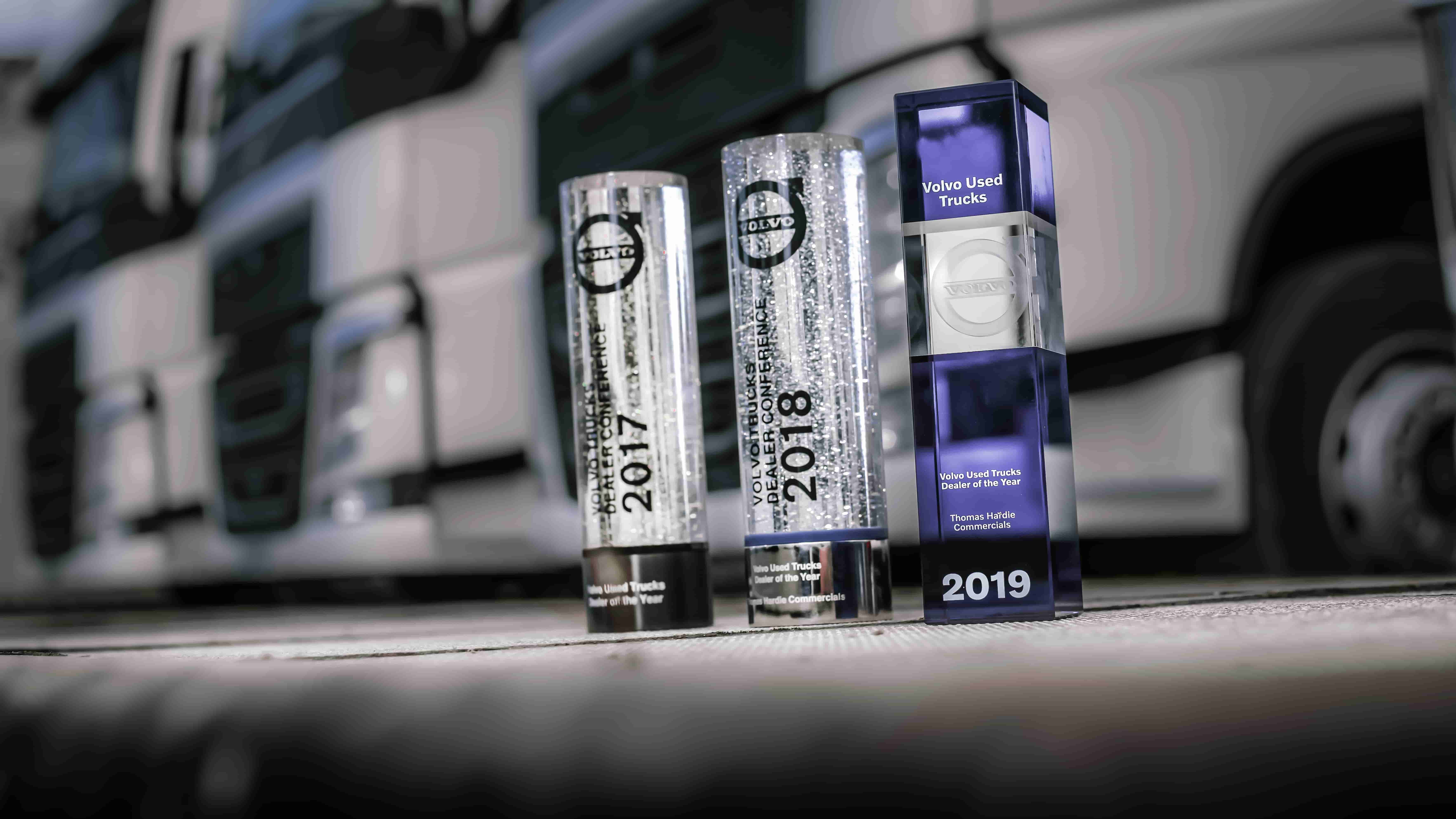 Volvo Used Truck Dealer Of The Year Award