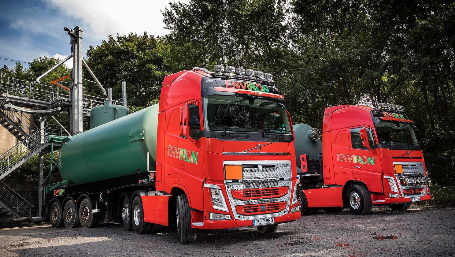 First Volvo trucks a gas for environ