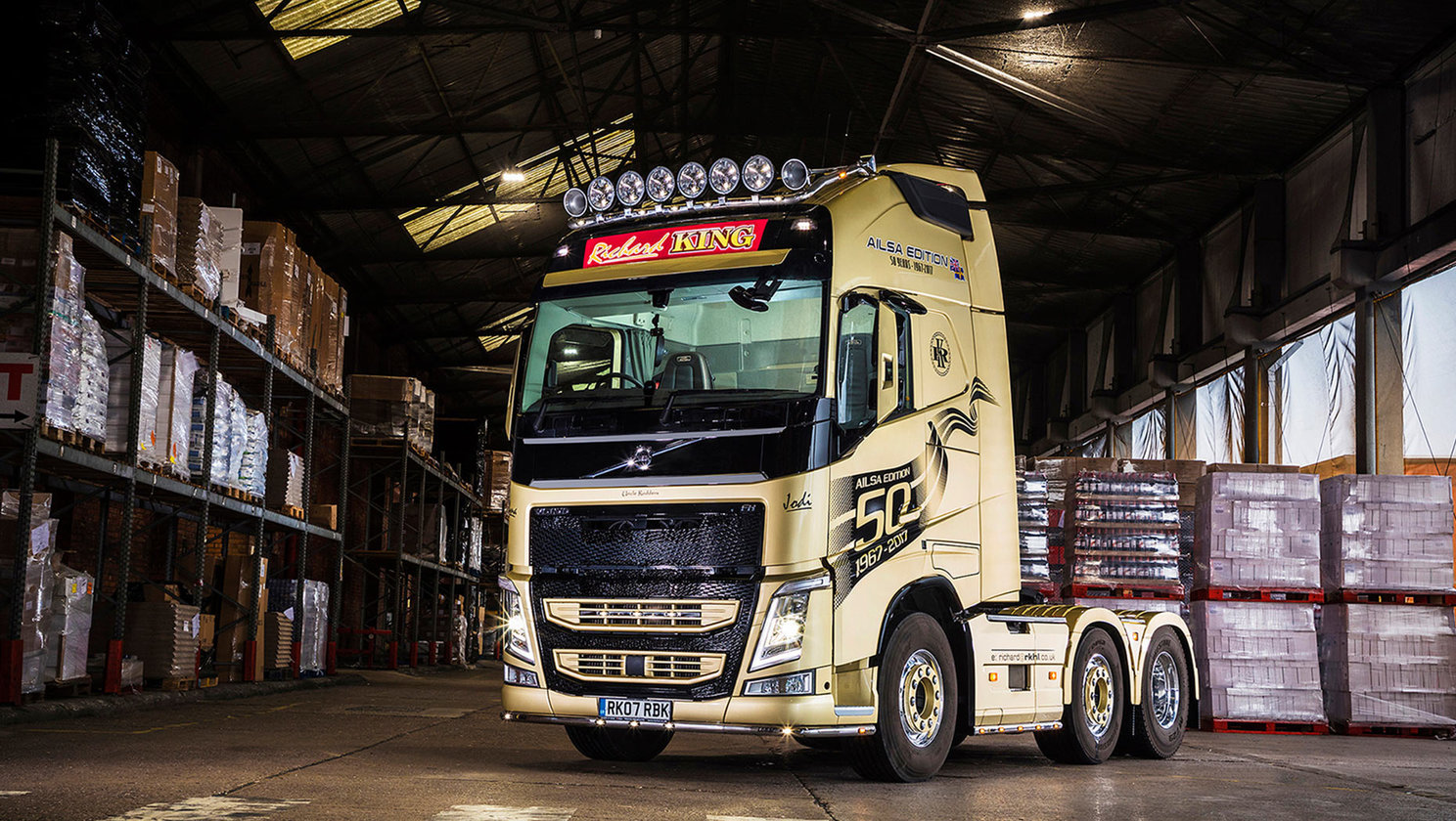 Richard King's Ailsa edition FH with I-shift dual clutch shines