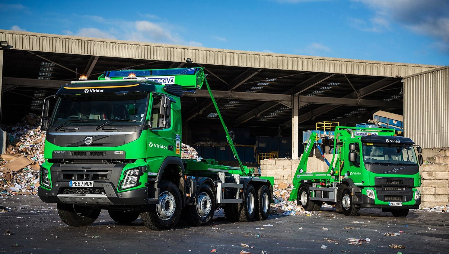 Viridor waste management values Volvo Trucks