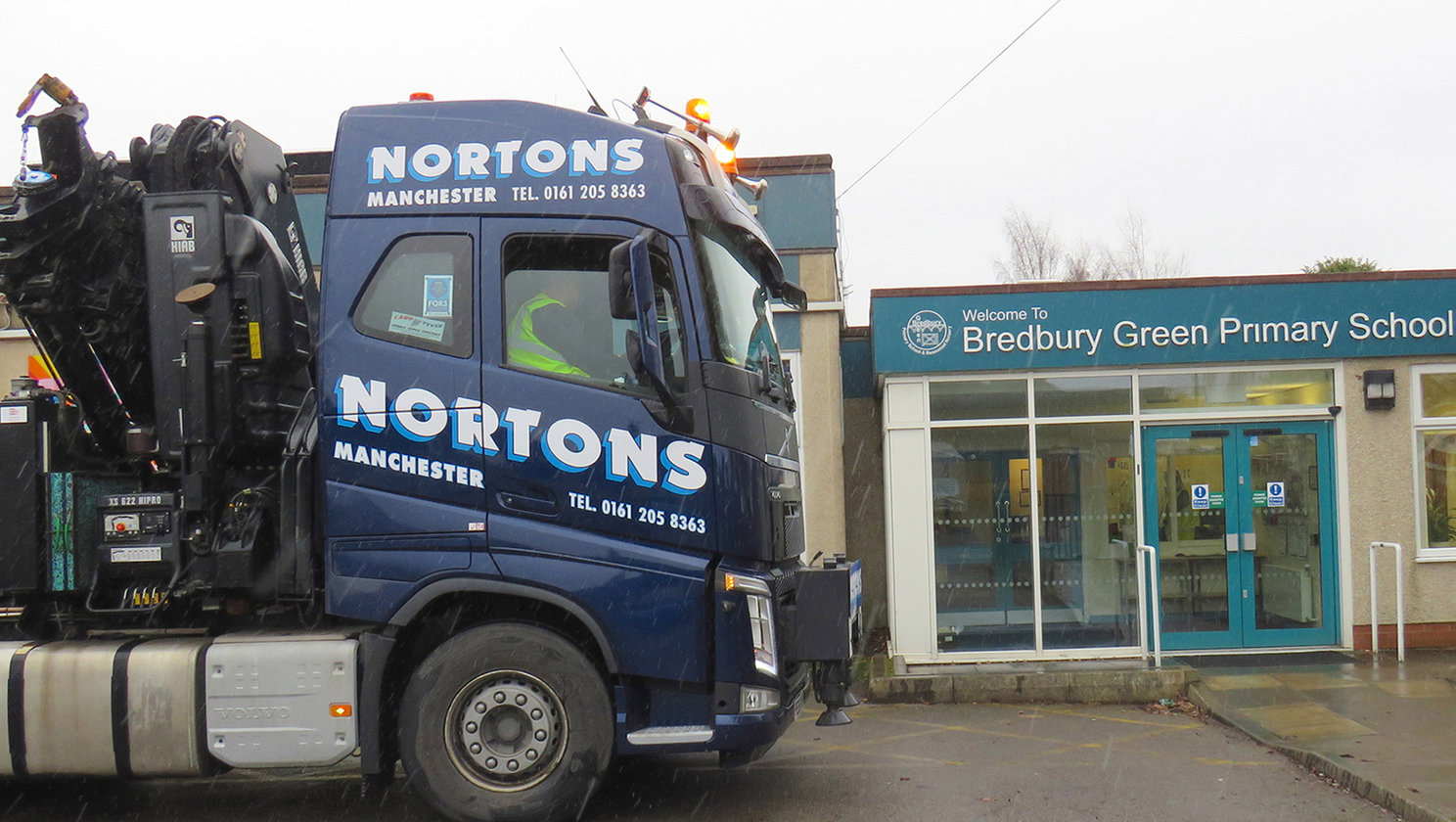 Norton's HIAB services raise safety awareness with Volvo Trucks