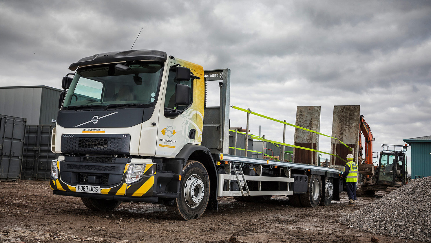Volvo's FE plant transporter grows efficiency levels at Hollingsworth Bros (UK) Ltd.