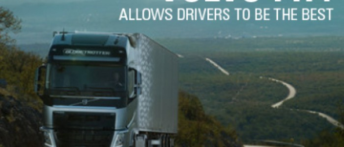 Volvo FH4 trucks help your drivers be the best