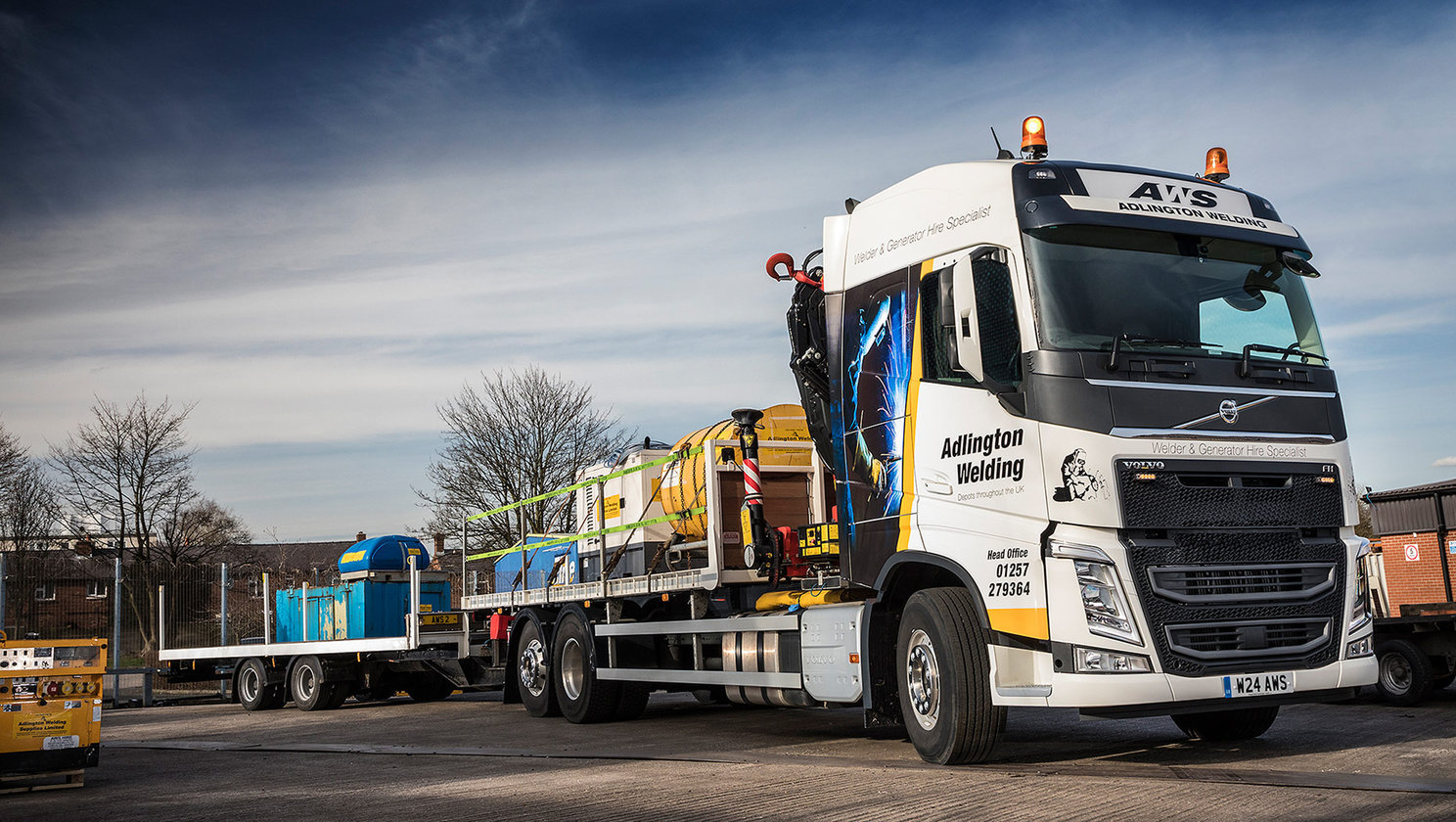 Volvo Trucks provide a seamless solution at Adlington Welding Supplies Ltd.