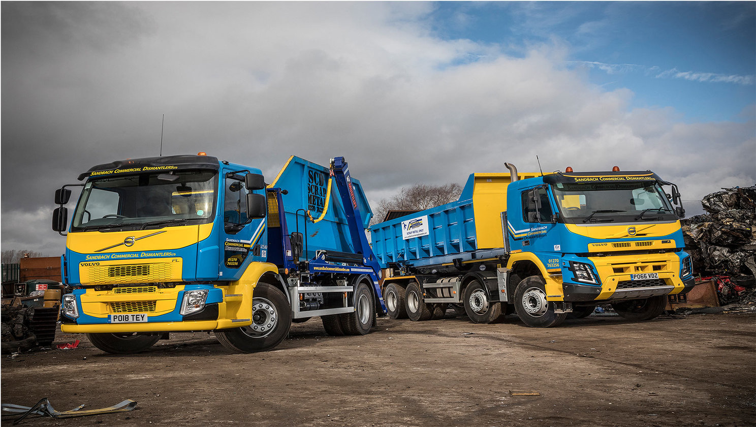 Sandbach Commercial Dismantlers invests in Volvo Trucks
