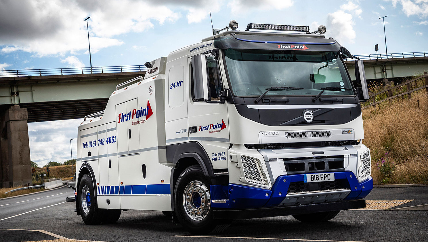 Another Volvo trucks first for Urmston-based, First Point Commercials