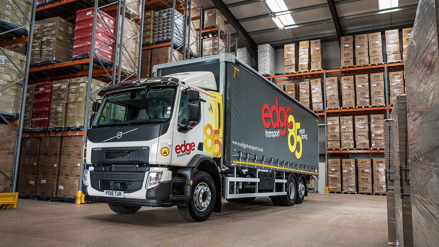A Volvo FE marks a major milestone at Edge transport