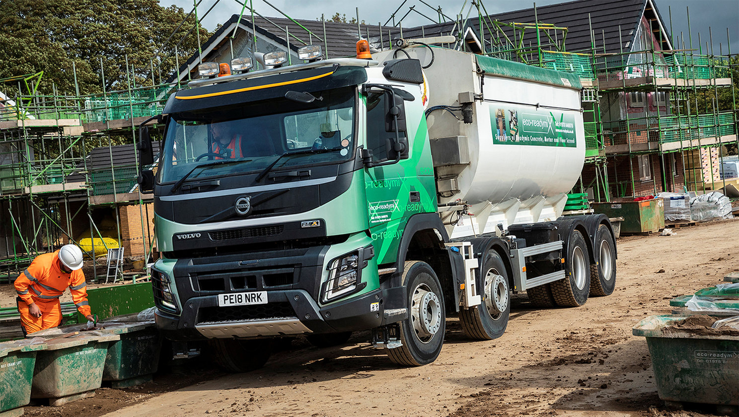 Volvo Trucks cement a solid reputation at Eco-Readymix