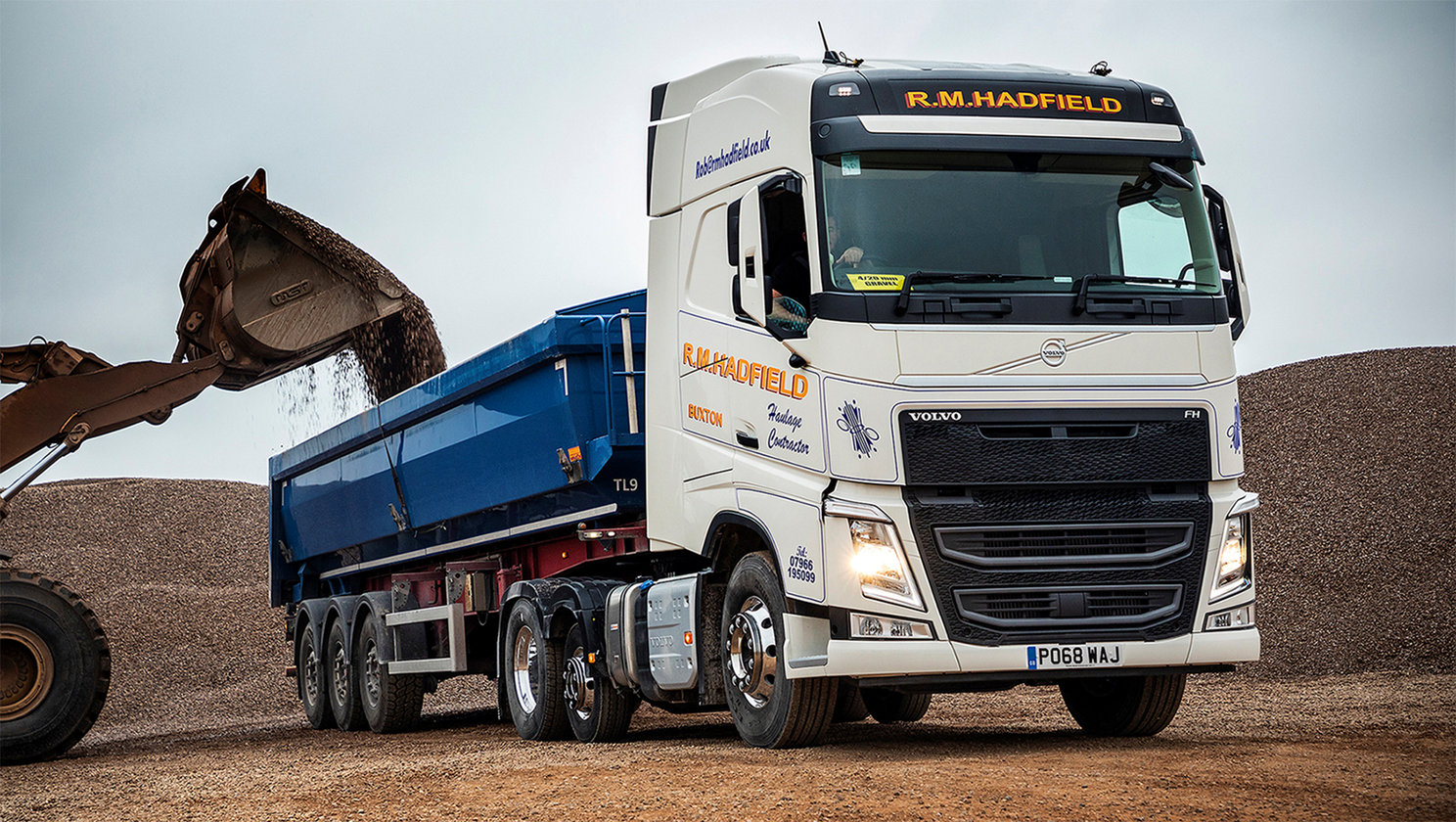 Volvo's FH Lite Tractor Unit ticks all the boxes at R.M Hadfield Haulage