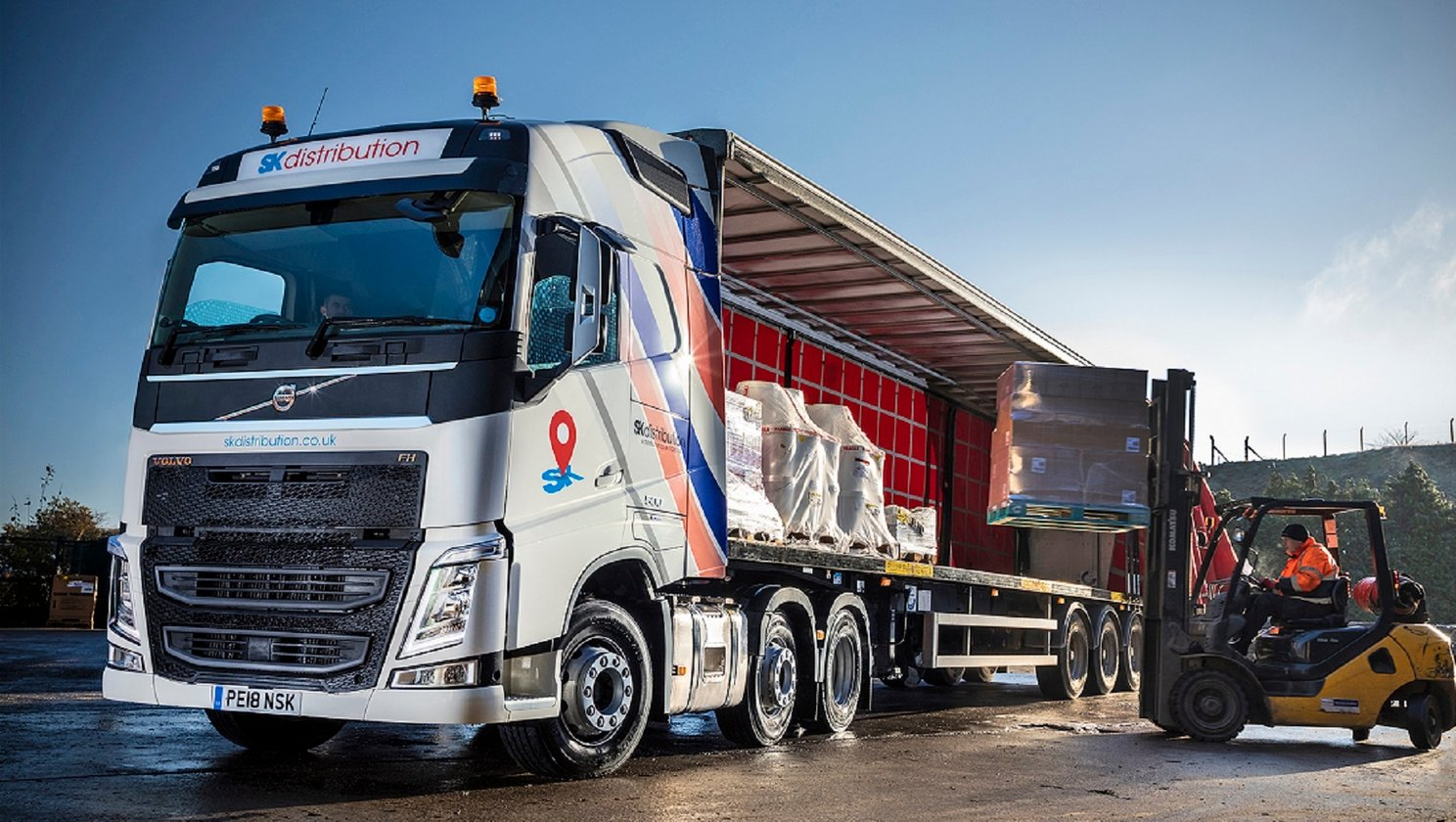 Volvo Trucks Deliver Value for Money at SK Distribution
