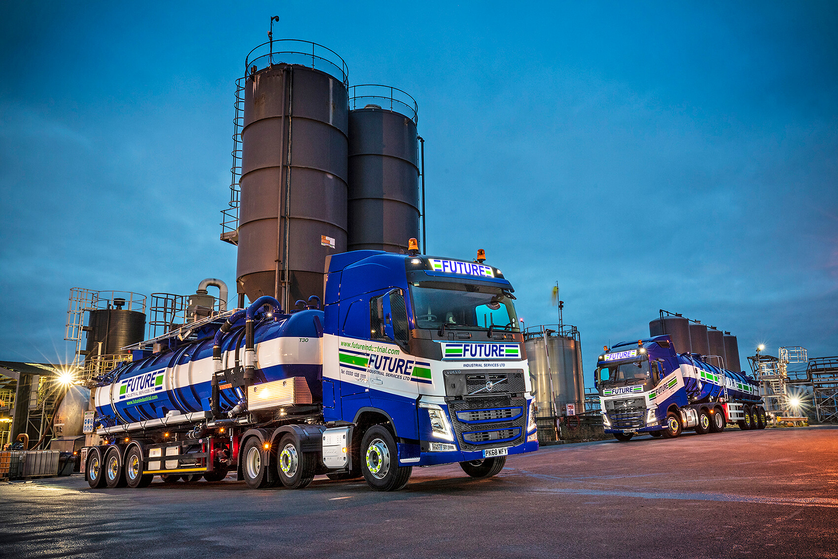 Future Industrial Services Ltd Plan Ahead With 18 New Volvo FH Tractor Units