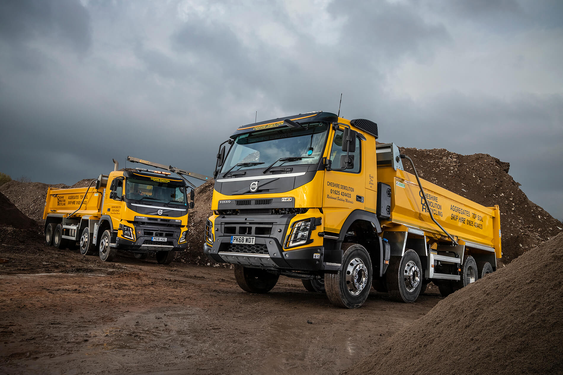 Cheshire Demolition Can't Knock Volvo's Robust FMX Rigids