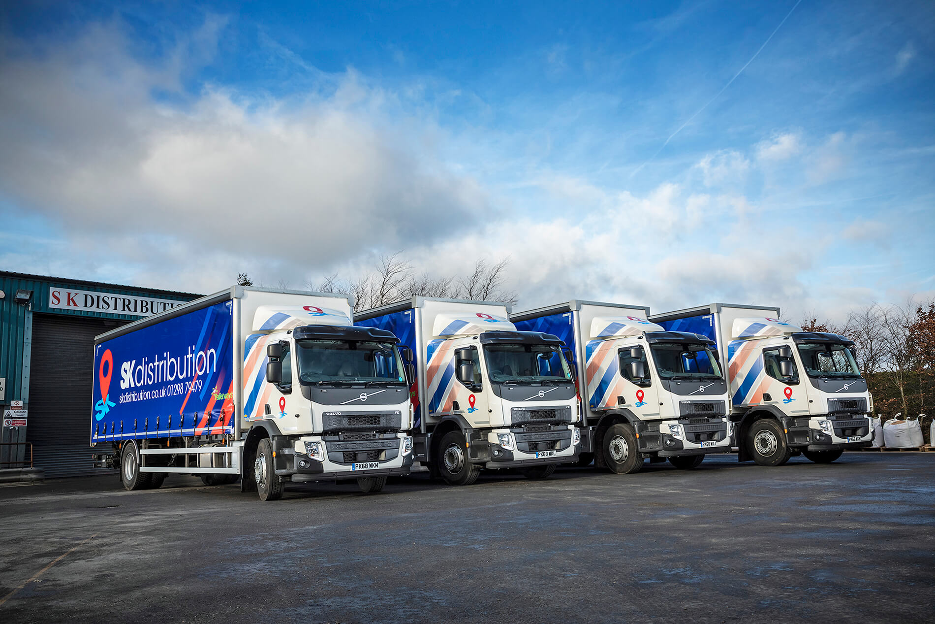 New Volvo FE trucks take SK Distribution into their comfort zone
